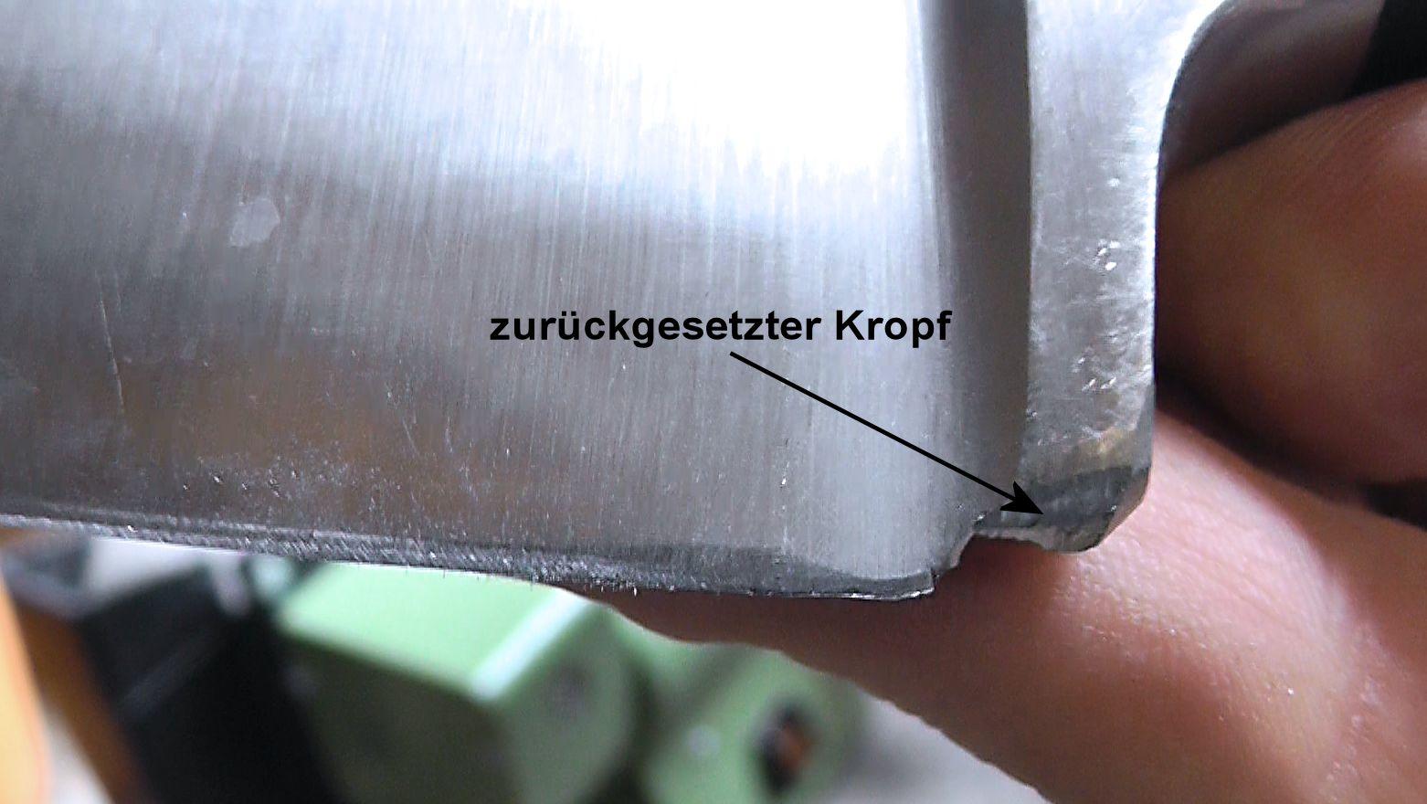 Messervorbereitung / Messer schärfen und schleifen - Leos ...
