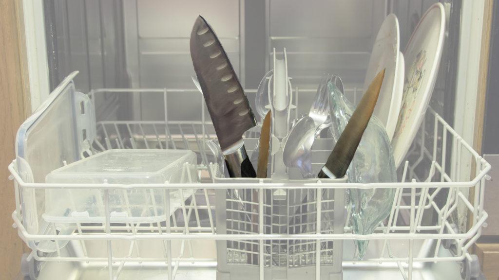Warum werden Messer in der Spülmaschine stumpf?